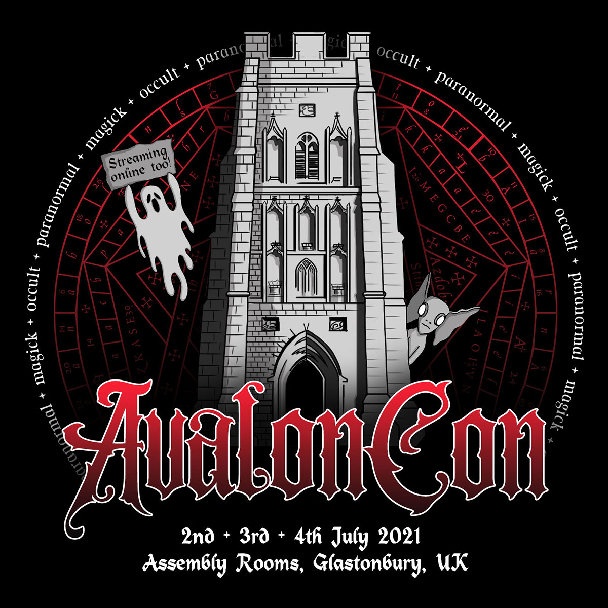The collaborative logo created for AvalonCon.